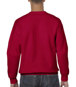 Sweat-shirt col rond heavy blend™ publicitaire | Sorel-Tracy Cherry Red