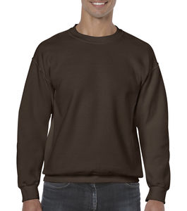Sweat-shirt col rond heavy blend™ publicitaire | Sorel-Tracy Dark Chocolate 1