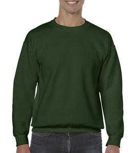 Sweat-shirt col rond heavy blend™ publicitaire | Sorel-Tracy Forest Green 1