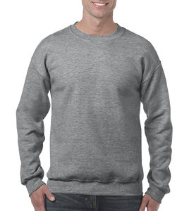 Sweat-shirt col rond heavy blend™ publicitaire | Sorel-Tracy Graphite Heather 1