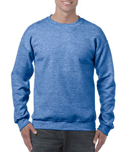 Sweat-shirt col rond heavy blend™ publicitaire | Sorel-Tracy Heather Sport Royal 1