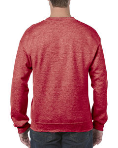 Sweat-shirt col rond heavy blend™ publicitaire | Sorel-Tracy Heather Sport Scarlet Red