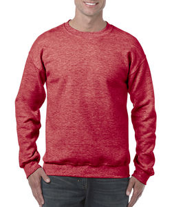 Sweat-shirt col rond heavy blend™ publicitaire | Sorel-Tracy Heather Sport Scarlet Red 1