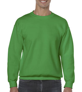 Sweat-shirt col rond heavy blend™ publicitaire | Sorel-Tracy Irish Green 1