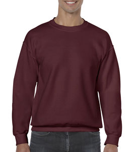 Sweat-shirt col rond heavy blend™ publicitaire | Sorel-Tracy Maroon 1