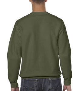 Sweat-shirt col rond heavy blend™ publicitaire | Sorel-Tracy Military Green
