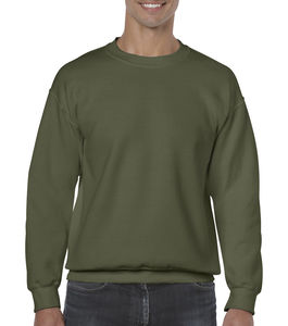 Sweat-shirt col rond heavy blend™ publicitaire | Sorel-Tracy Military Green 1