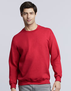 Sweat-shirt col rond heavy blend™ publicitaire | Sorel-Tracy Red 2