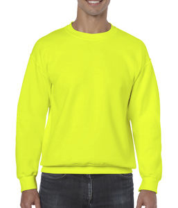 Sweat-shirt col rond heavy blend™ publicitaire | Sorel-Tracy Safety Green 1