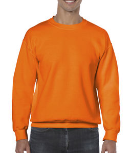 Sweat-shirt col rond heavy blend™ publicitaire | Sorel-Tracy Safety Orange 1