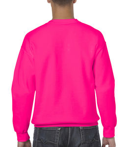Sweat-shirt col rond heavy blend™ publicitaire | Sorel-Tracy Safety Pink