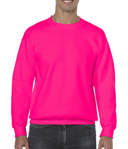 Sweat-shirt col rond heavy blend™ publicitaire | Sorel-Tracy Safety Pink 1