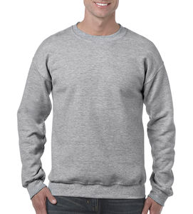 Sweat-shirt col rond heavy blend™ publicitaire | Sorel-Tracy Sport Grey 1