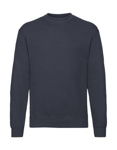 Sweatshirt personnalisé manches longues | Classic Set In Sweat Deep Navy 1