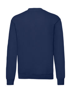 Sweatshirt personnalisé manches longues | Classic Set In Sweat Navy