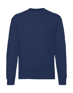 Sweatshirt personnalisé manches longues | Classic Set In Sweat Navy 1