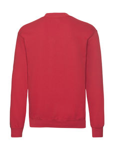 Sweatshirt personnalisé manches longues | Classic Set In Sweat Red