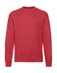 Sweatshirt personnalisé manches longues | Classic Set In Sweat Red 1