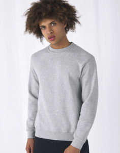 Sweatshirt publicitaire unisexe manches longues | Set In Sweat Heather Grey