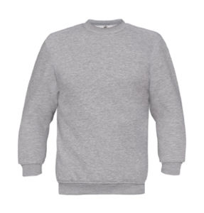 Sweatshirt publicitaire unisexe manches longues | Set In Sweat Heather Grey 1