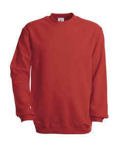 Sweatshirt publicitaire unisexe manches longues | Set In Sweat Red