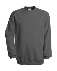 Sweatshirt publicitaire unisexe manches longues | Set In Sweat Steel grey