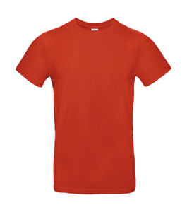 T-shirt homme publicitaire | #E190 Fire Red