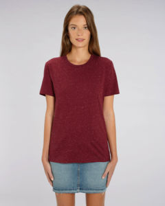 T-shirt iconique unisexe | Creator Dark Heather Burgundy 1