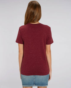 T-shirt iconique unisexe | Creator Dark Heather Burgundy 5