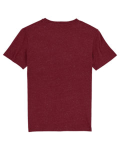 T-shirt iconique unisexe | Creator Dark Heather Burgundy 7