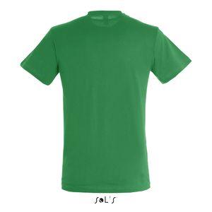 381d4af6fe ... Tee-shirt personnalisé unisexe col rond | Regent Vert prairie 1 ...