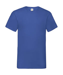 V-Neck-Tee royal 1