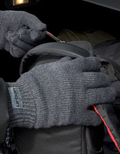 Gants publicitaires | Fully Lined Thinsulate Charcoal 2