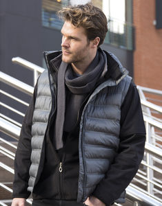 Bodywarmer publicitaire homme sans manches | Ice Bird Padded Grey 10