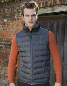 Bodywarmer publicitaire homme sans manches | Ice Bird Padded Grey 3