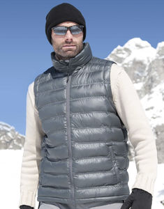 Bodywarmer publicitaire homme sans manches | Ice Bird Padded Grey 4