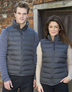 Bodywarmer publicitaire homme sans manches | Ice Bird Padded Grey 5
