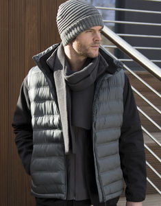 Bodywarmer publicitaire homme sans manches | Ice Bird Padded Grey 7