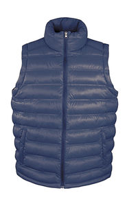Bodywarmer publicitaire homme sans manches | Ice Bird Padded Navy