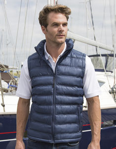 Bodywarmer publicitaire homme sans manches | Ice Bird Padded Navy 1